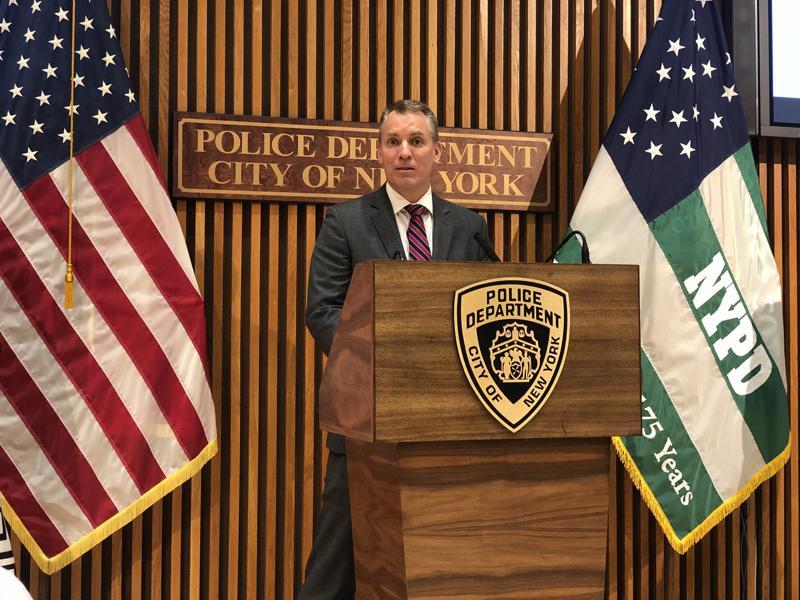 市警总局局长希尔表示,将举行八场社区会议,征求警务改革建议。(记者张晨/摄影)