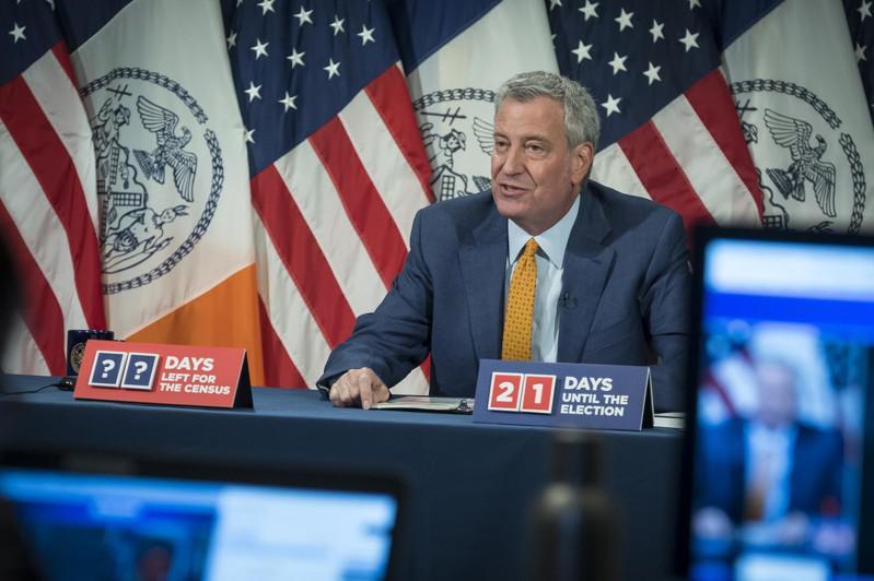 白思豪表示,本周的防疫至关重要,将决定纽约市是否能够防住第二波疫情。(市长办公室提供)