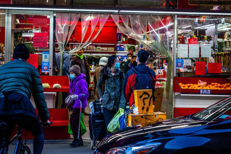 纽约市12月恐入「橙区」,餐馆业者忧财务打击。(记者张晨/摄影)
