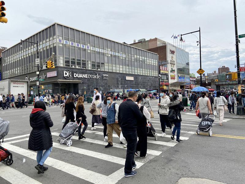 纽约市300万在外国出生的移民中,来自中国的人数字列第二。(记者朱蕾/摄影)