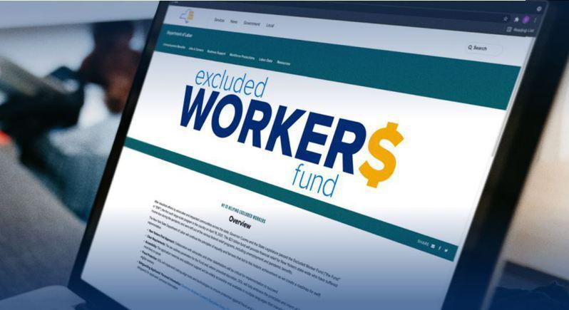 「被排除工人基金」已下�l12�|元救��款,�A��⒃诒驹潞谋M21�|元的��~,州府已停止接受新的申�。(州�诠�d提供)