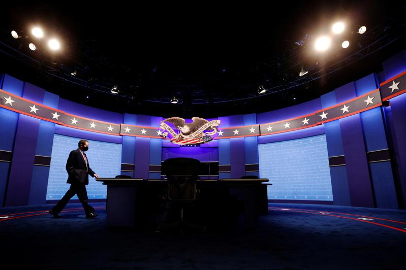 大选前唯一一场副总统候选人辩论会7日在犹他州登场。(路透)