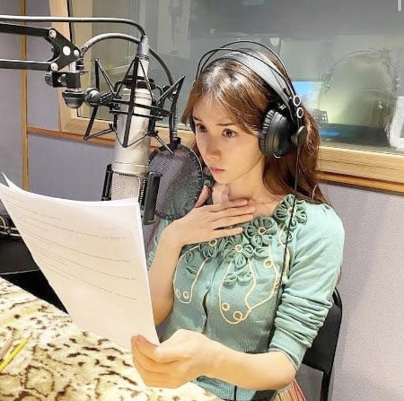 林志玲为有声书配音。 (取材自Instagram)