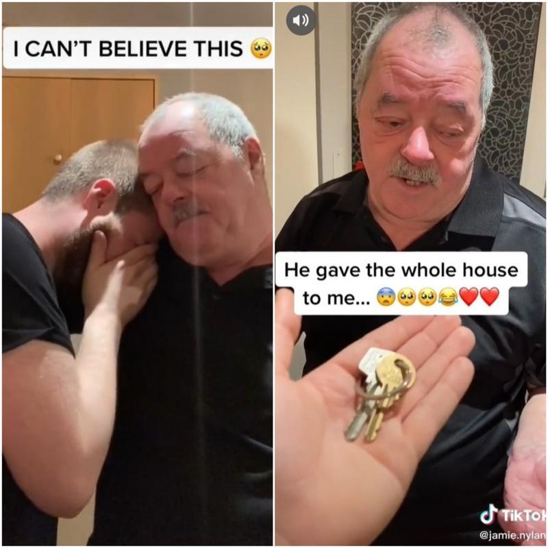 没想到杰米的父亲理查,随后竟将钥匙交给儿子,并表示自己已经在遗嘱中将房留给杰米,...