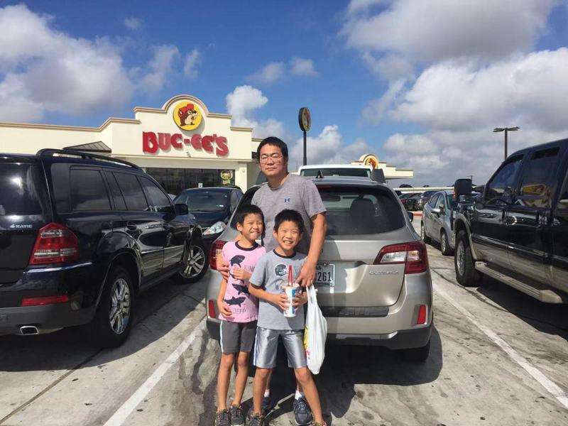 郝勇和家人在德州生活20年,感觉当地人友好,生活轻松没压力。(郝勇提供)
