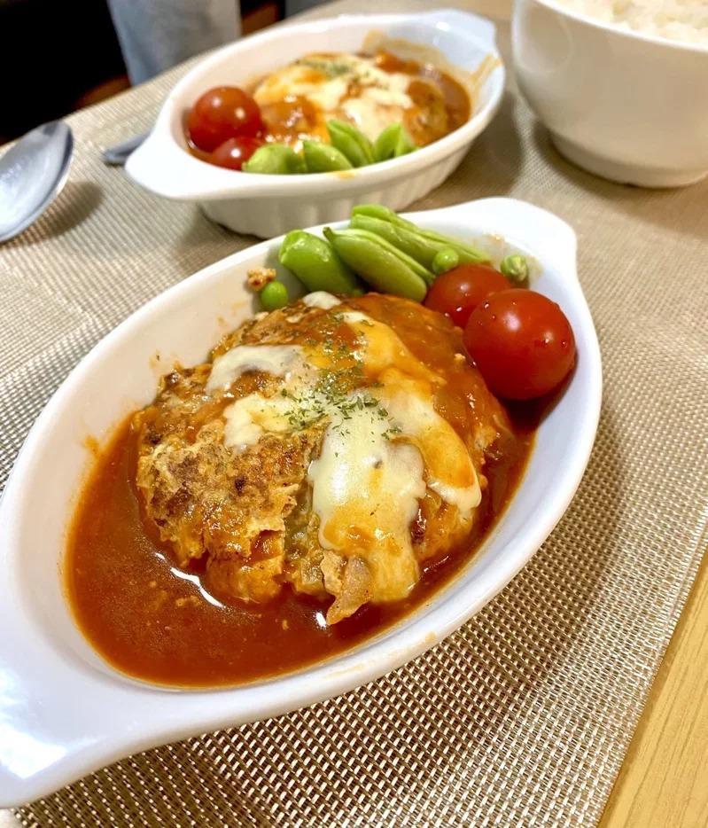 女网友把安慰礼拿来制成美味餐点。 取材自@man__man__chan推特