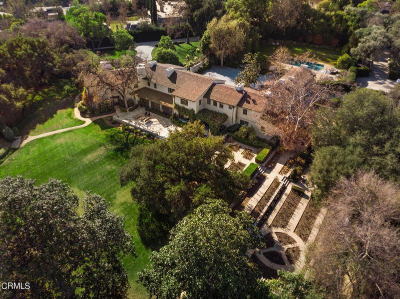 南加大出售校長官邸,接手的買家正是陳天橋。(地產網站圖片)