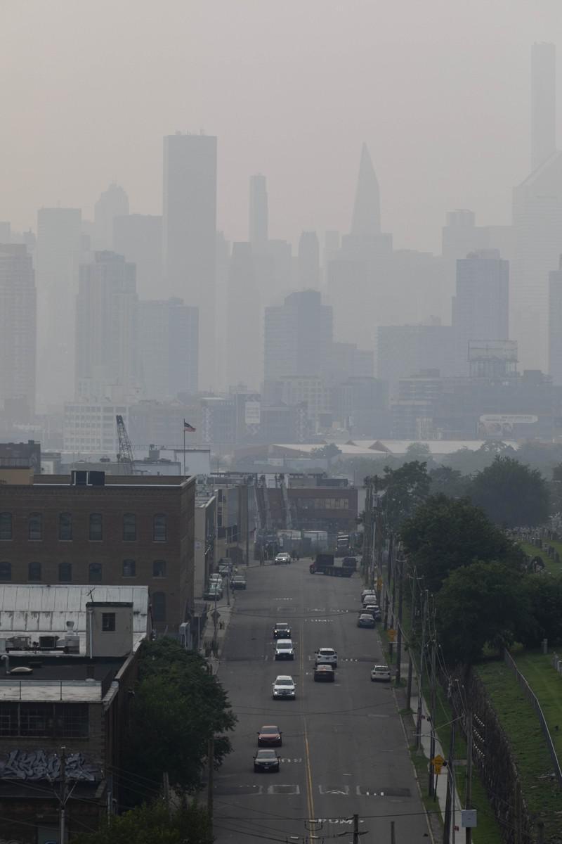全球空气最糟城 纽约突跃居第4 要怪野火浓烟