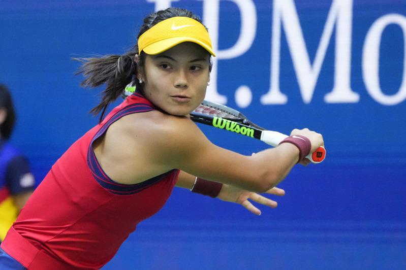瑞度卡努在美國網球公開賽贏得后冠。(路透)